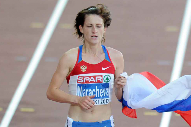 Irina Maracheva... (Photo Yuri Kadobnov, archives AFP)