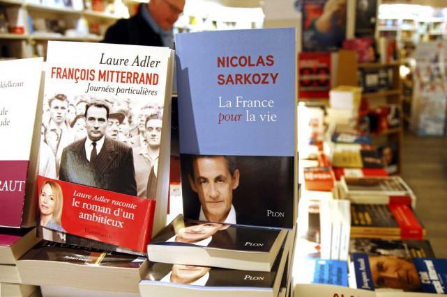 La France pour la vie, c'est le titre du livre que l'ancien président... (PHOTO REUTERS)