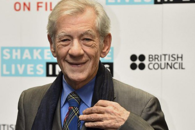 Ian McKellen... (PHOTO ARCHIVES AFP)