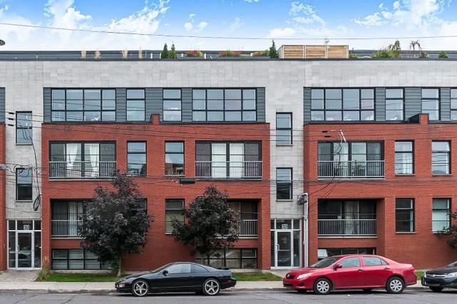 D'abord affiché à 239 000$, cet appartement de... (Photo fournie par les courtiers)