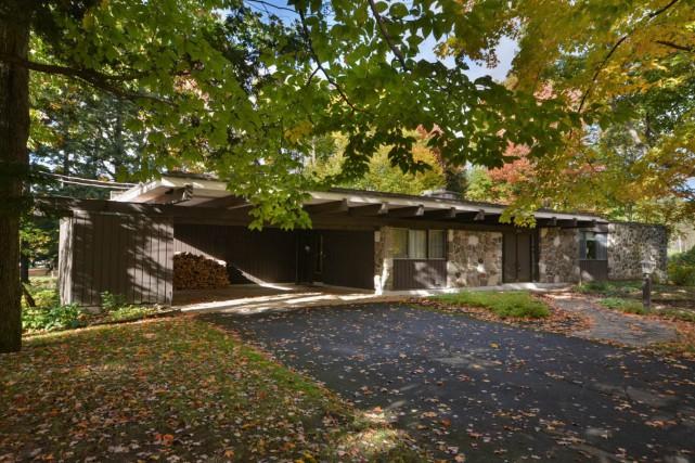 D'abord affichée à 424 000$, cette maison de... (Photo fournie par les courtiers)