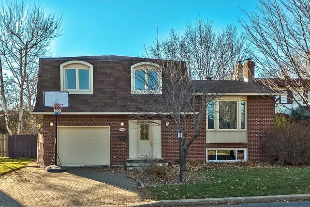D'abord affichée à 415 000$, cette maison située... (Photo fournie par les courtiers)