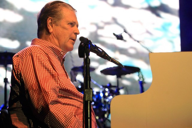 Brian Wilson en spectacle en octobre 2013.... (PHOTO ARCHIVES AP)