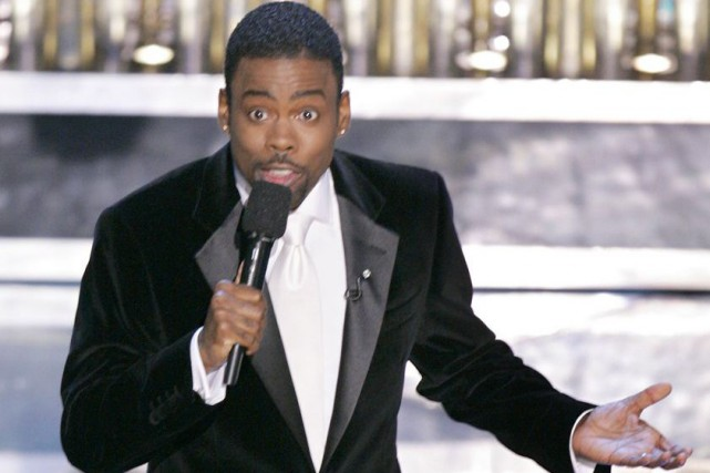 Chris Rock... (PHOTO ARCHIVES AP)