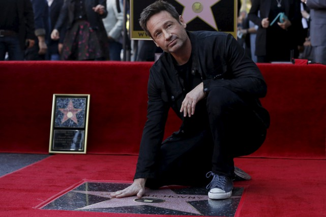 David Duchovny, la star de la série culte X-Files, a inauguré son... (Photo Reuters)