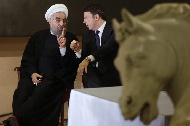 Hassan Rohani a rencontré lundi le chef du gouvernement... (PHOTO REUTERS)
