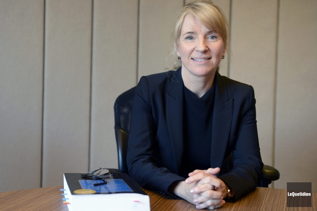 Me Nathalie Gagnon affirme que le système de... (Photo Le Quotidien, Jeannot Lévesque)