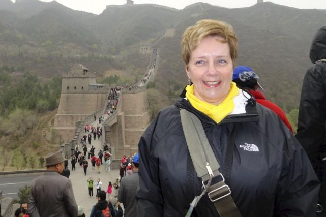 Suzanne Bernier, décédée dans l'attentat au Burkina Faso,... (Tirée de Facebook)