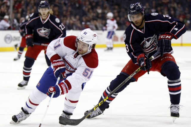 Relisez le clavardage du match entre le Canadien et les Blue Jackets de... (PHOTO AP)