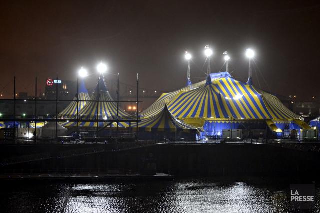 Le chapiteau du Cirque du Soleil pourrait être... (Archives, La Presse)