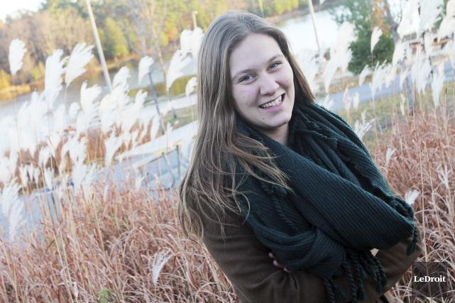 La candidate indépendante dans Lac-Beauchamp, Liza Lauzon.... (Etienne Ranger, Archives LeDroit)