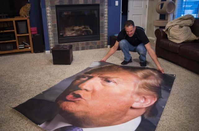La folie des grandeurs semble s'être transmise du candidat Donald Trump à ses...