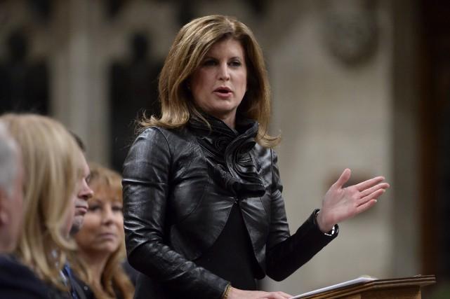 La chef conservatrice intérimaire Rona Ambrose... (La Presse Canadienne, Adrian Wyld)