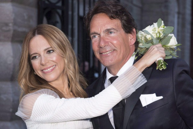 Le mariage de Julie Snyder et Pierre Karl... (PHOTO ARCHIVES LA PRESSE CANADIENNE)
