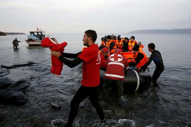 Selon le droit international, «la seule façon d'agir... (PHOTO REUTERS)