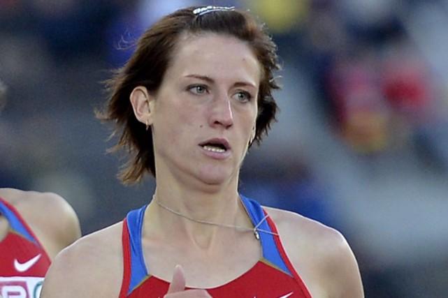 Irina Maracheva, vice-championne d'Europe 2012 du 800 m,... (AP, Martin Meissner)