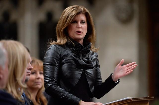 La chef interiméraire du Parti conservateur Rona Ambrose... (photo adrian wyld, la presse canadienne)