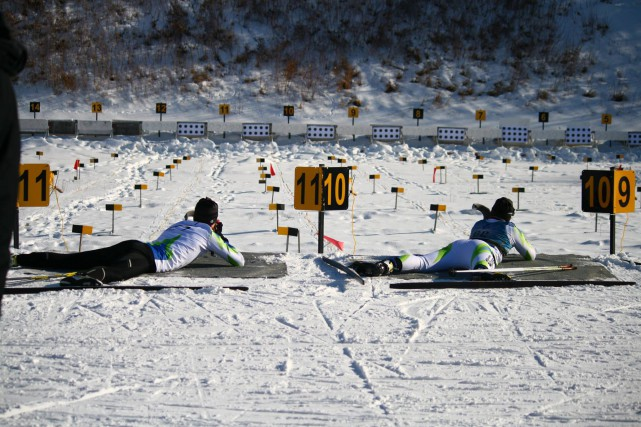 Le club de biathlon de Sherbrooke doit se débrouiller sans cinq carabines à air... (Photo tirée de Facebook)