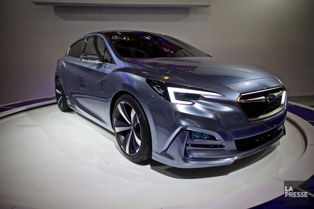 La Subaru Impreza Concept présentée au dernier Salon... (PHOTO ANDRÉ PICHETTE, LA PRESSE)