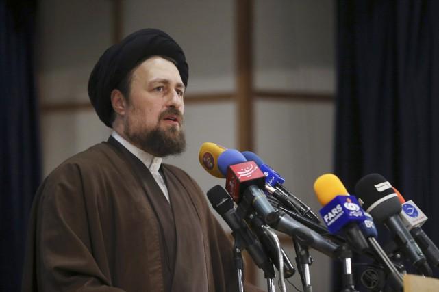 HassanKhomeini, un proche des réformateurs âgé de 43... (PHOTO VAHID SALEMI, ARCHIVES AP)
