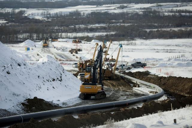 Au moment où de nombreux projets de pipeline sont en attente d'autorisation au... (Archives Bloomberg)