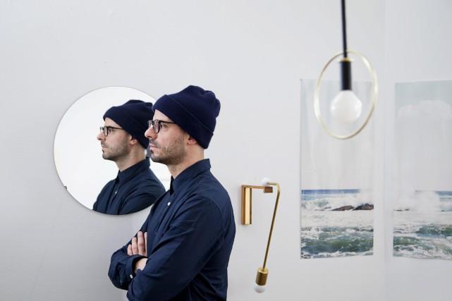 Le designer Jean-Pascal Gauthier... (PHOTO ALAIN ROBERGE, LA PRESSE)