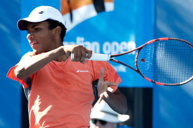 Félix Auger-Aliassime... (Photo Vincent Thian, AP)