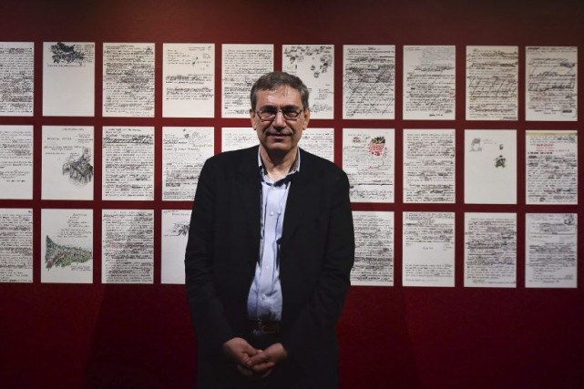 Orhan Pamuk... (PHOTO AFP)