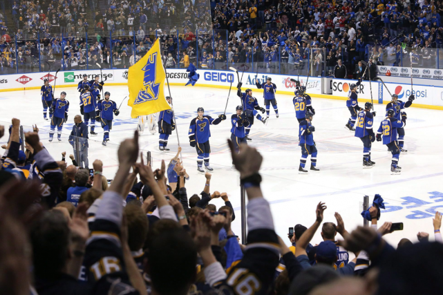 Le Scottrade Center, le domicile des Blues de... (Photo Chris Lee, PC)