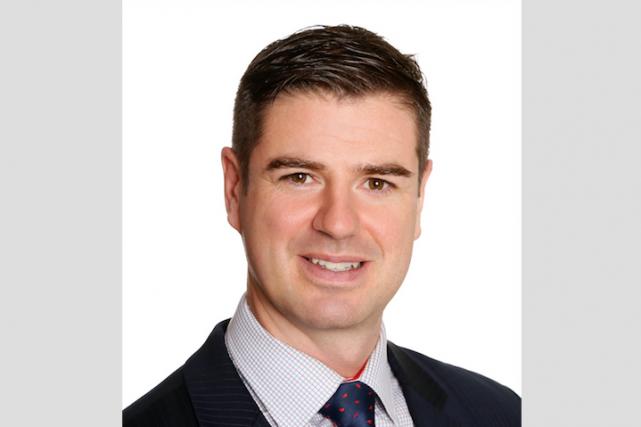 Marc-Antoine Reid, directeur régional à Québec pour le... (Photo fournie par Groupe Investors)