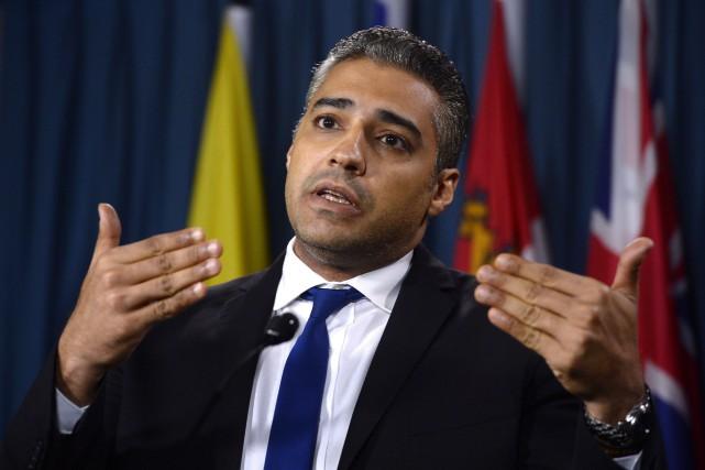 Mohamed Fahmya été libéré d'une prison égyptienne l'automne... (Photo Adrian Wyld, La Presse Canadienne)