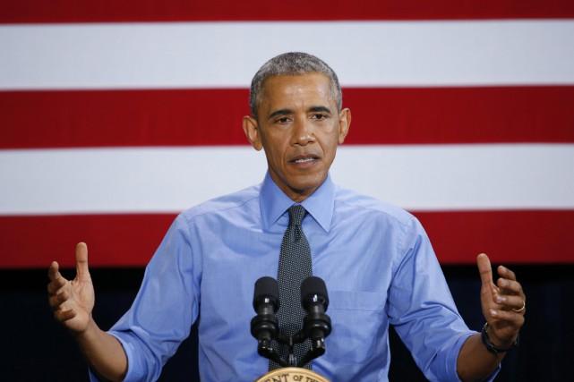 BarackObama, qui demande depuis des années au Congrès... (PHOTO PAUL SANCYA, ARCHIVES AP)