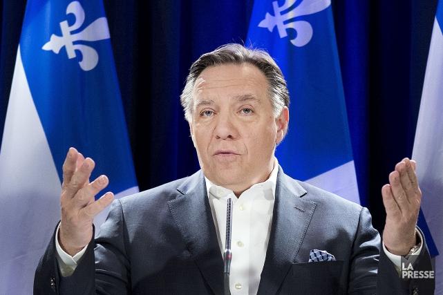 M. Legault a affirmé que le gouvernement du... (Photo Robert Skinner, archives La Presse)