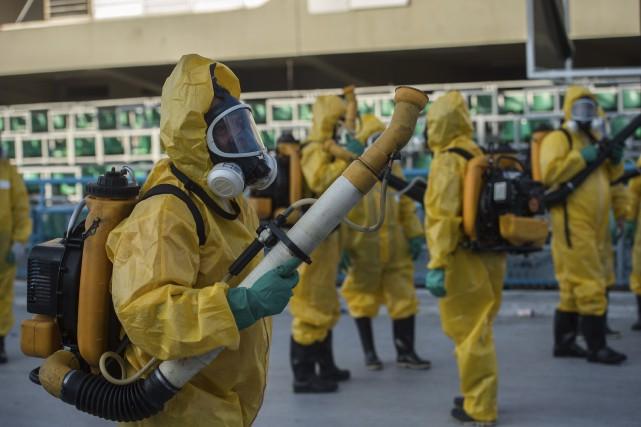 À Rio de Janeiro, où aura lieu le... (AFP, Christophe Simon)