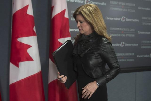 La chef intérimaire du Parti conservateur, Rona Ambrose,... (La Presse Canadienne)
