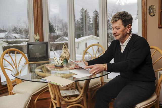Comme de nombreux propriétaires sherbrookois, Irène Mailloux s'interroge... (Spectre, Marie-Lou Béland)