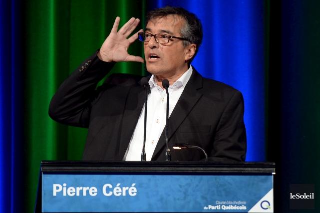 Ex-candidat à la direction du Parti québécois, Pierre... (Photothèque Le Soleil, Erick Labbé)