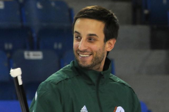 L'entraîneur-chef des Patriotes, Marc-Étienne Hubert, a joué pour... (François Gervais)