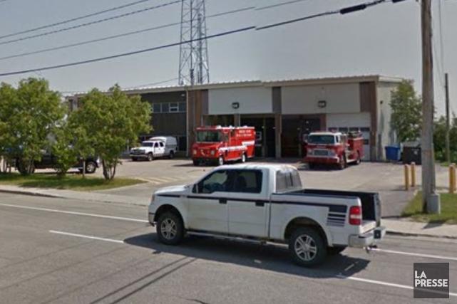 Caserne du Service des incendies de Baie-Comeau... (Tirée de Google Street View)