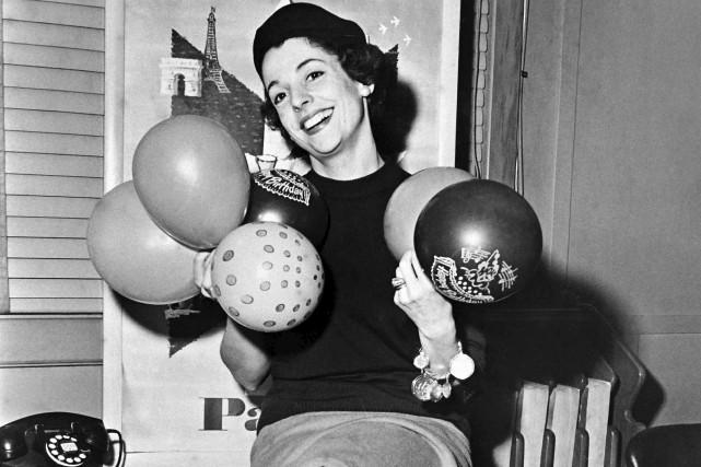 Denise Duval en 1960... (AFP)