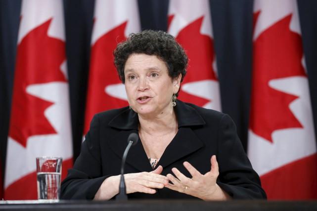 Julie Gelfand,commissaire à l'environnement et au développement durable.... (PhotoChris Wattie, ARCHIVES Reuters)