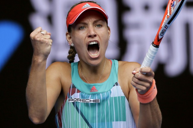 Angelique Kerber.... (Aaron Favila, Associated Press)