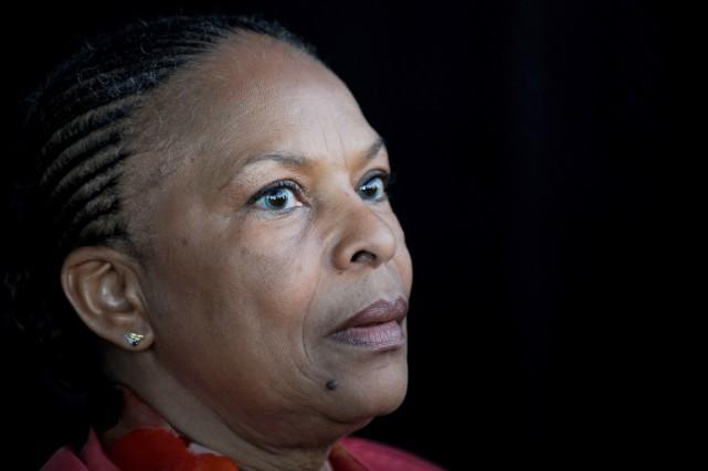 Christiane Taubira... (PHOTO JEAN-SEBASTIEN EVRARD, ARCHIVES AFP)