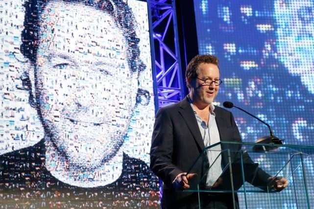 Leprésident d'Entertainment One Canada, Patrick Roy, a été... (PHOTOJULIEN FAUGÈRE, FOURNIE PAR CINÉ-QUÉBEC)