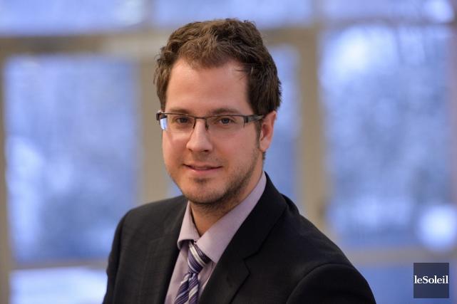Jean-Philippe Joncas, analyste en planification financière et fiscaliste... (Photo Le Soleil, Caroline Grégoire)