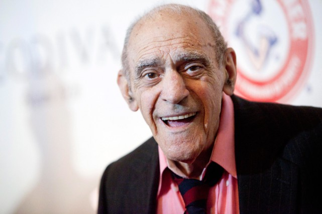Abe Vigoda en 2012... (PHOTO ARCHIVES REUTERS)