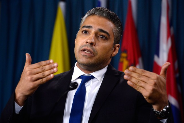 Le journaliste canadien Mohamed Fahmy a passé près de... (Photo Chris Wattie, archives Reuters)