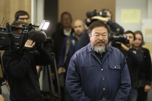 Ai Weiwei en octobre dernier.... (PHOTO ARCHIVES AP)