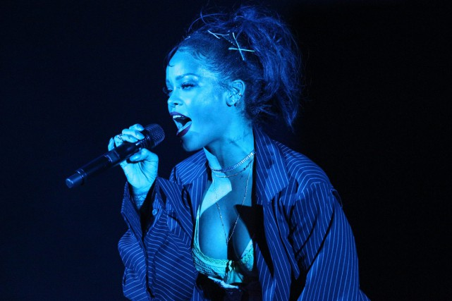 Rihanna... (PHOTO ARCHIVES AP)