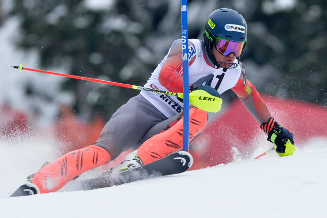 Ted Ligety... (Photo Samuel Kubani, AFP)